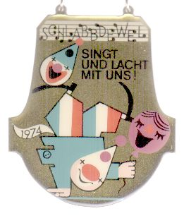 Jahresorden 1974 Singt und lacht mit uns