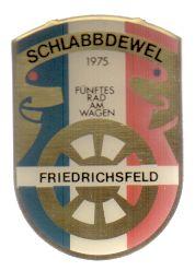 Jahresorden 1975 Friedrichsfeld, fünftes Rad am Wagen