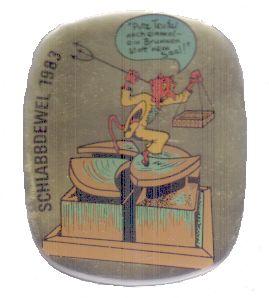 Jahresorden 1983 Potz Teufel noch einmal - ein Brunnen statt 'nem Saal