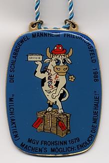 Jahresorden 1988 Milch (Aktien) machen's möglich: Endlich die neue Halle