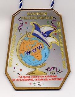 Jahresorden 2003 Ob Humor, Gesang oder auch Balett, die SCHLABBDEWEL sind jetzt drin im INTERNET