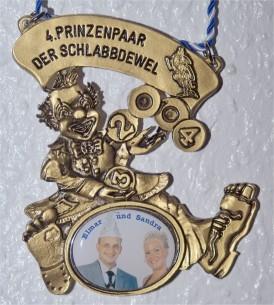 Prinzenpaarorden 2004 Sandra & elmar