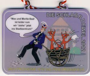 """Jahresorden 2012 """"Max und Moritz-Saal ist leider rum wir """"ziehe"""" jetz ins Stadtzentrum !"""""""