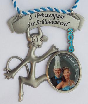 Prinzenpaarorden 2015 Marcel & Denise